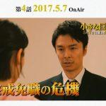 「小さな巨人」4話。ネタバレ、あらすじ。視聴率。感想。キャスト。香坂が小野田を追い詰める?